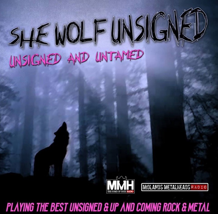 Psycho Visions - She Wolf Unsigned broadcast with us