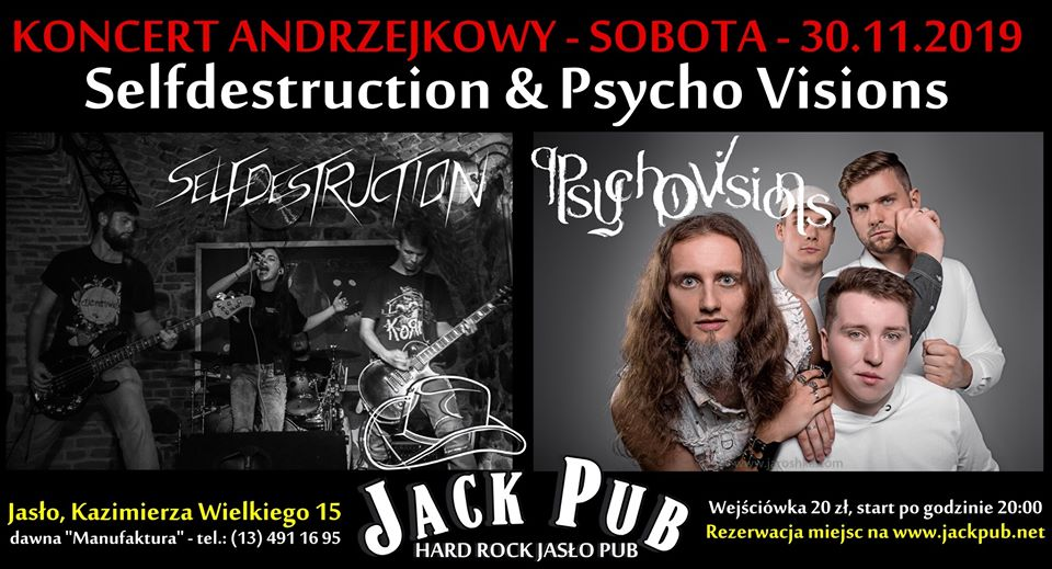 Psycho Visions - New gig in Jasło