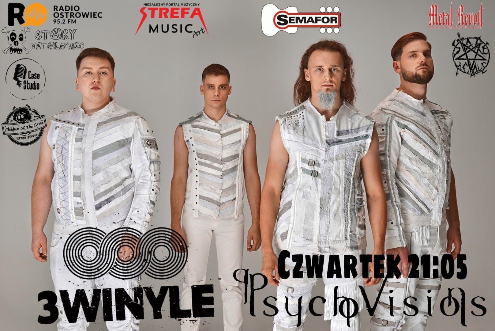Psycho Visions - Trzy Winyle broadcast