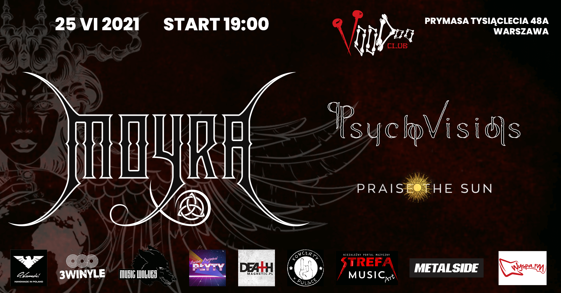 Psycho Visions - Show at VooDoo in Warsaw