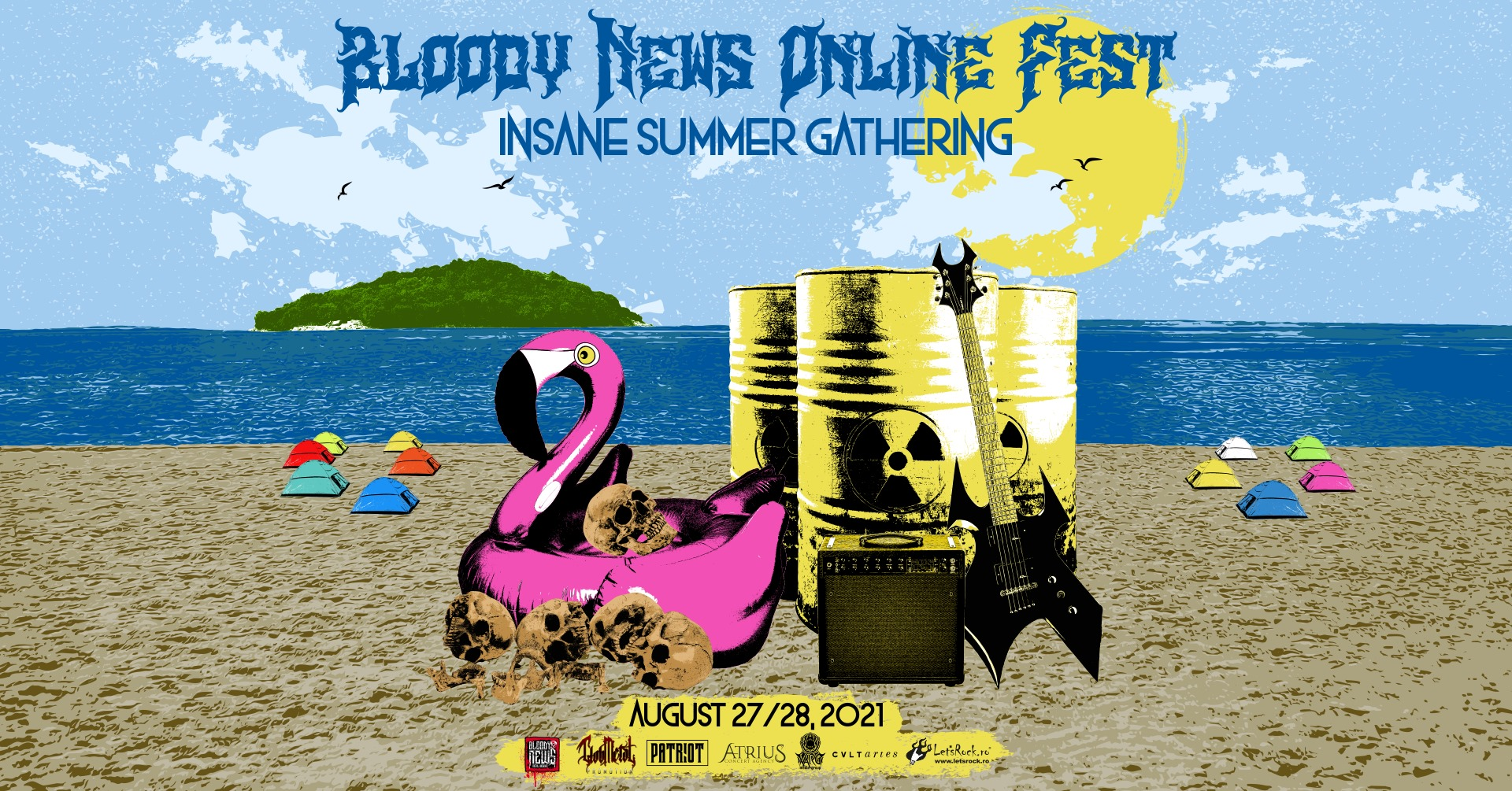 Psycho Visions - Bloody News Online Fest