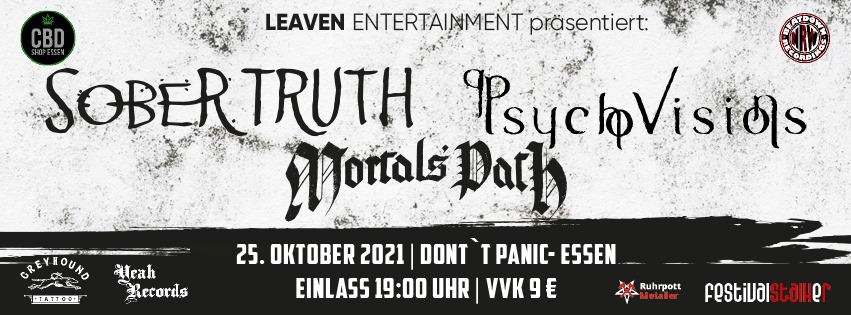 Psycho Visions - New gigs announcement!